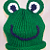 Knitted Baby Frog Hat Pattern