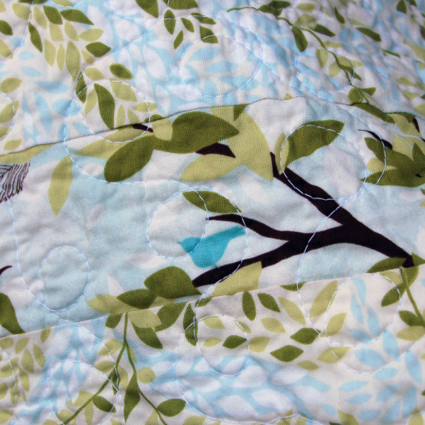"""In the Leafy Treetops"" Quilt"