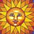 Rainbow Sun-print