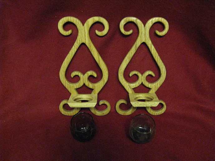Wall Candle Holders