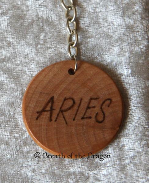 Zodiac keychain ~ Aries