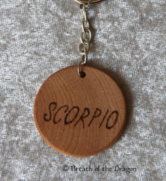 Zodiac keychain ~ Scorpio