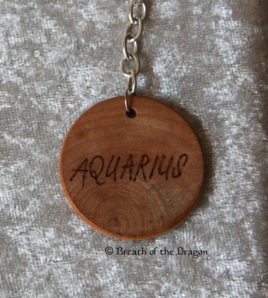 Zodiac keychain ~ Aquarius