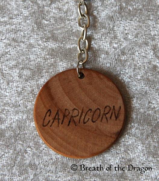 Zodiac keychain ~ Capricorn