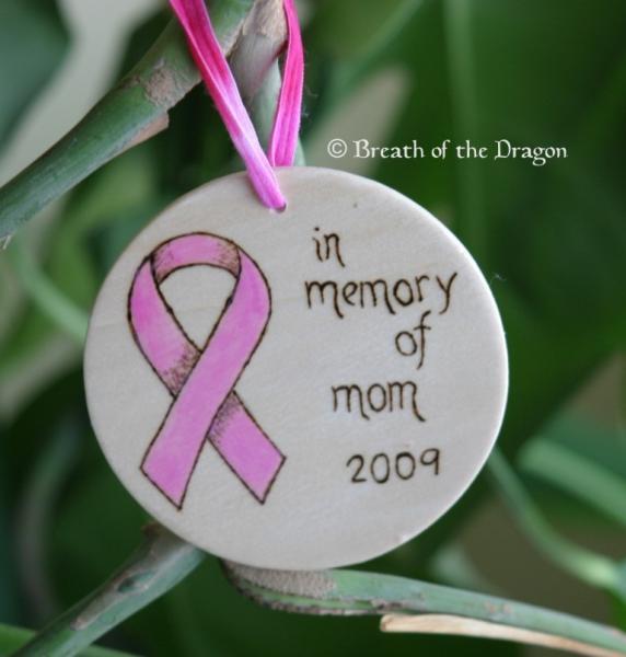 Customizable Memorial Support Ribbon Ornament