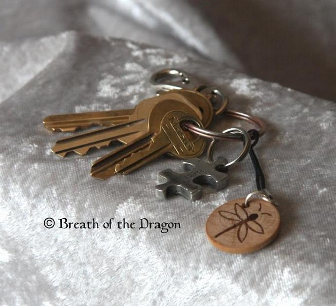 Customized Small Wooden Charm