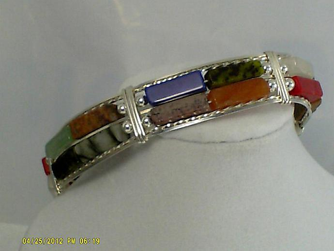 Gemstone and Sterling-Item # 0081