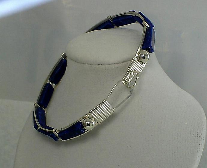 Lapis and Sterling-Item # 0086