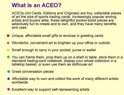 Original ACEO Cupcake girl art card