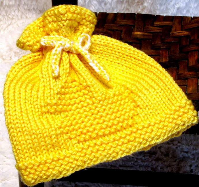 Knitting Pattern For Duck Hat : Knitting Pattern Newborn - RUBBER DUCK - EZ ezcareknits