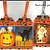 Halloween 5 Set of 3 Tags
