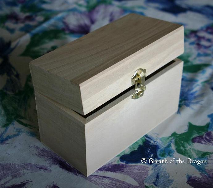 Customized Recipe Box