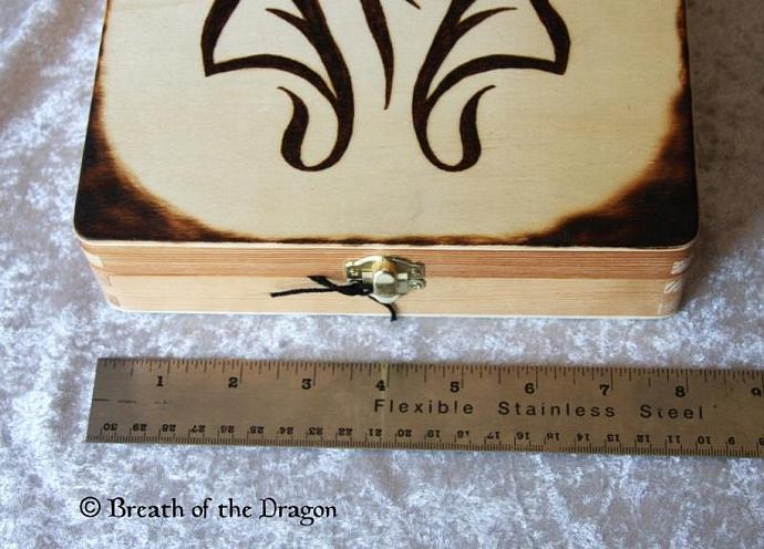 Flame Rose box