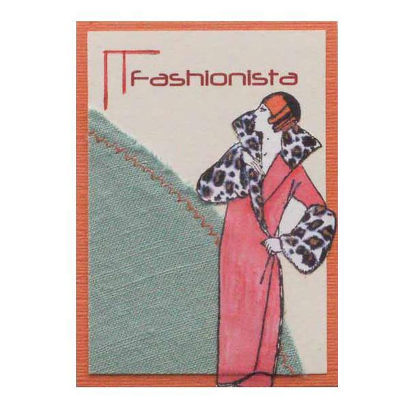Fashionista Art Card