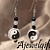 Stylish Yin Yang Earrings 10086