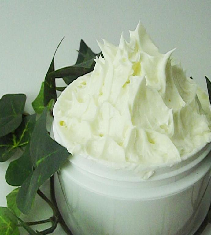 Dianthus Scented Whipped Shea Body Butter 4oz - Deeply Moisturizing