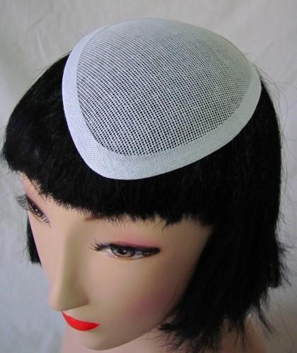 Tiny Tear Drop Buckram Frame Millinery Hat Foundation