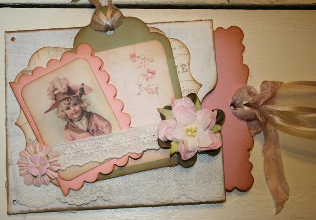 6 Large rose victorian mats