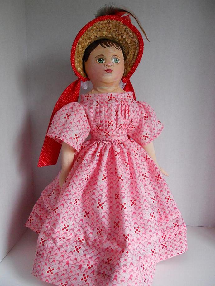 Art Doll Izannah Walker Repro Doll Emma