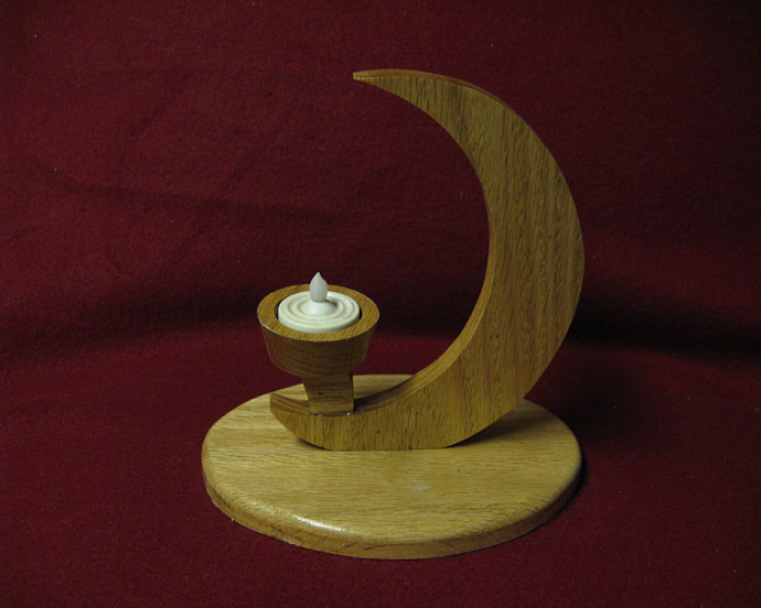 Crescent Moon Tea Light