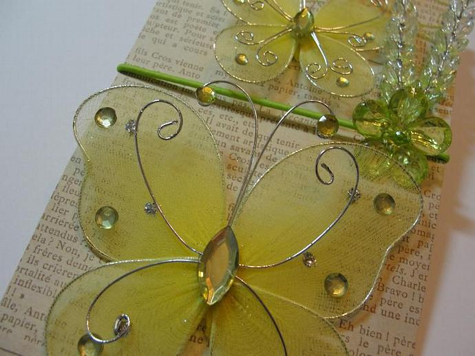 Yummy Yellow & Green Butterfly Ensemble