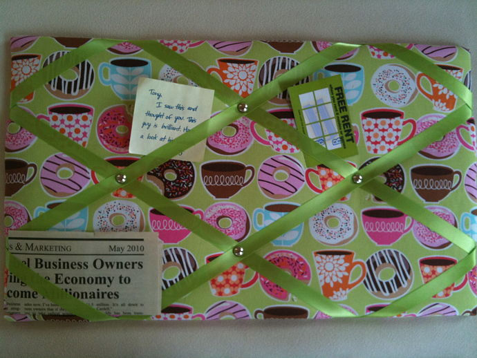 Pin Boards/Notice Boards/Memo/ Coffee & Donuts