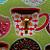 "3 Hooks, Key Rack, Key Holder, ""Coffee & Doughnuts"