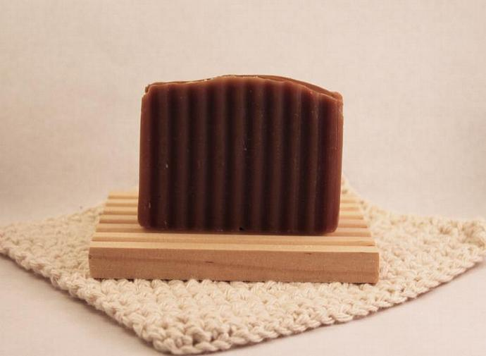 Chocolate Hazelnut Bar Handmade Soap made to smell like Nutella