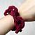 Fall into Ribbon - Crimson Berries Statement Neckl