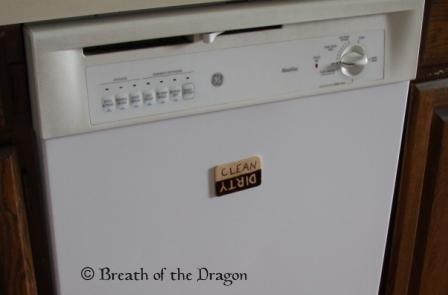 Smiley Dishwasher Magnet