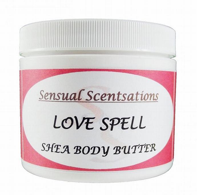Love Spell (Type) Whipped Shea Body Butter 4oz - Deeply Moisturizing