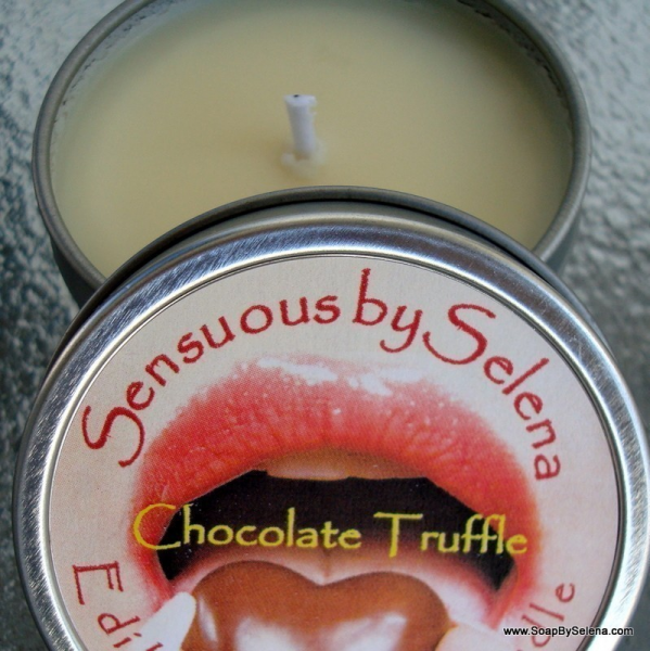 EDIBLE Massage Candle - Chocolate Truffle