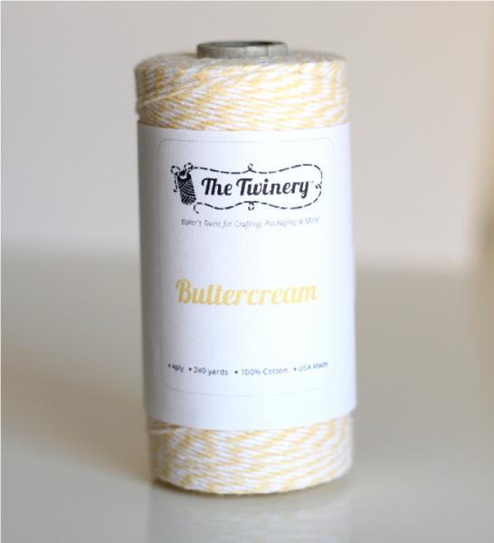 5yds - Buttercream Twinery Twine