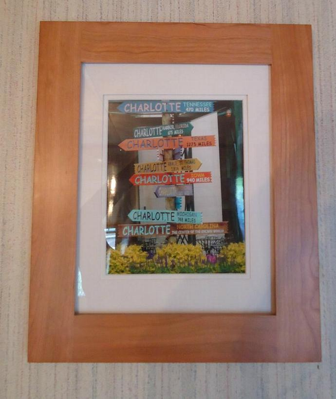 From Charlotte Wood Framed and Ivory Matted Original Photograph