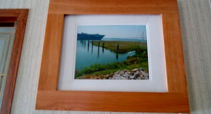 Peace and War Wood Framed and Ivory Matted Original Photograph