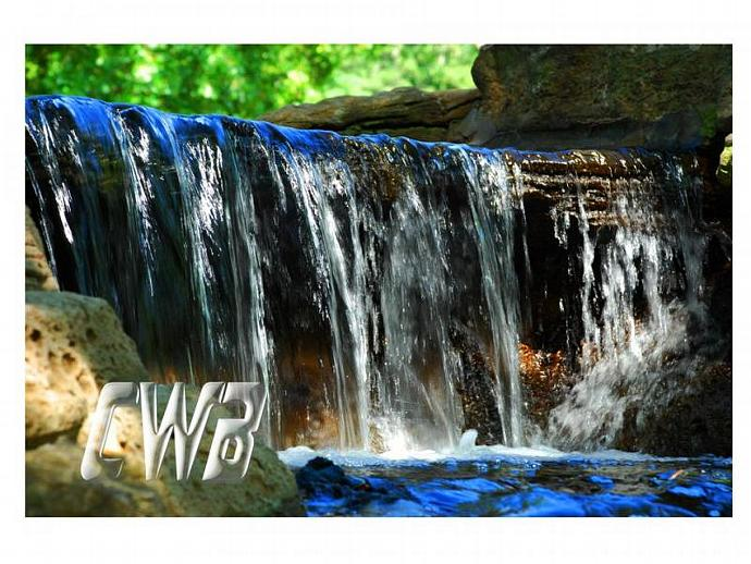 WaterColors Blue fine art print