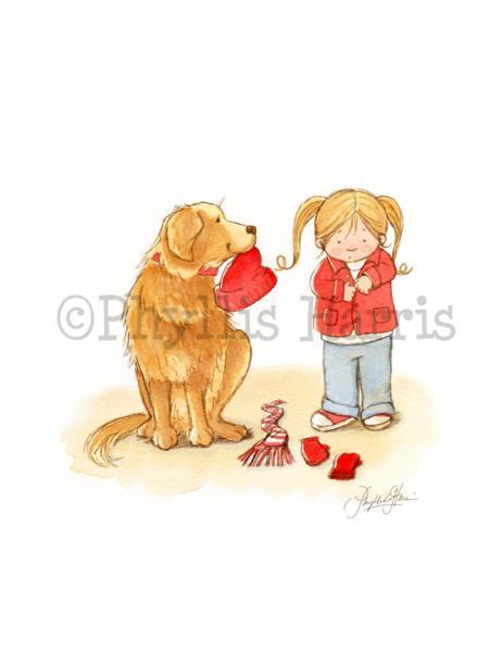 Children's Art Print for Nursery or children's room decor