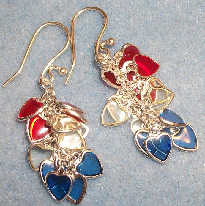 Star Spangled Earrings