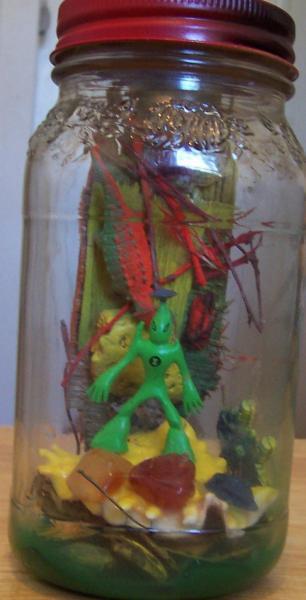 Alien Landscape in a Jar - Catopix