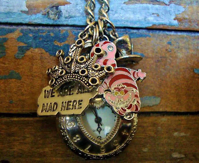 Stark Raven Mad Necklace