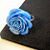 Accomplish The Impossible- Blue Rose Copper Ring