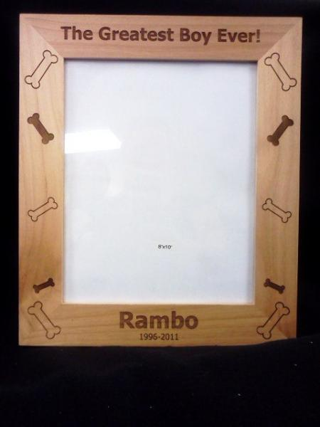 Personalized 8x10 custom photo frame- create your own