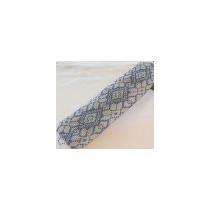 2 Loom Bead Patterns For The Price Of 1 - Blue Knit Cuff Bracelets