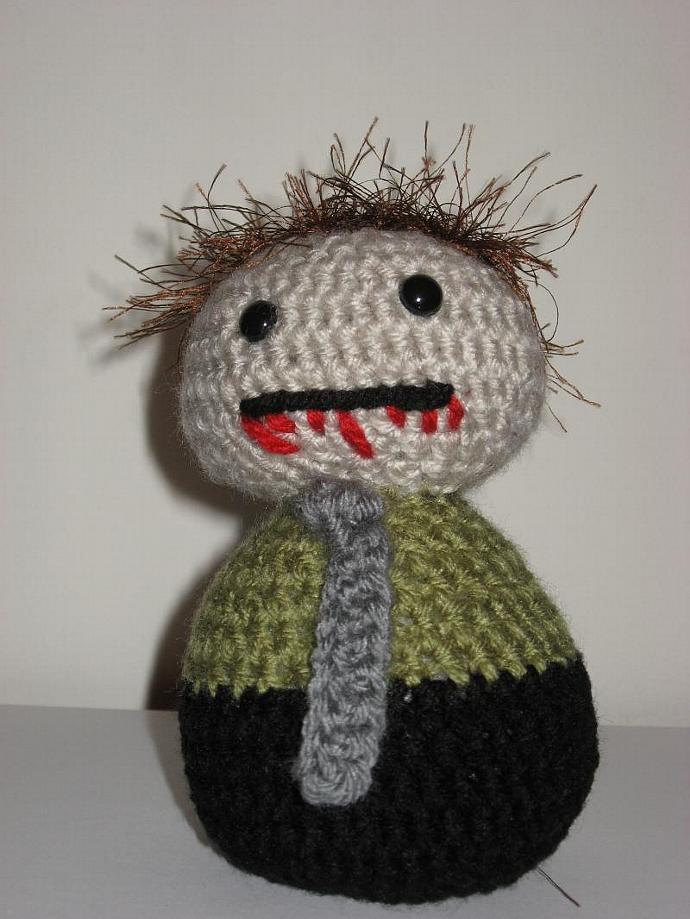 Bob the Amigurumi Zombie!