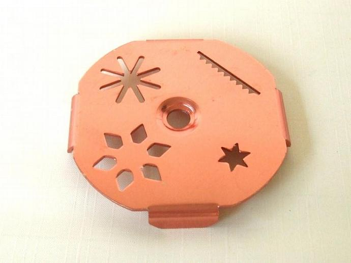 Mirro Aluminum Dial A Cookie Press Disk Replacement Part