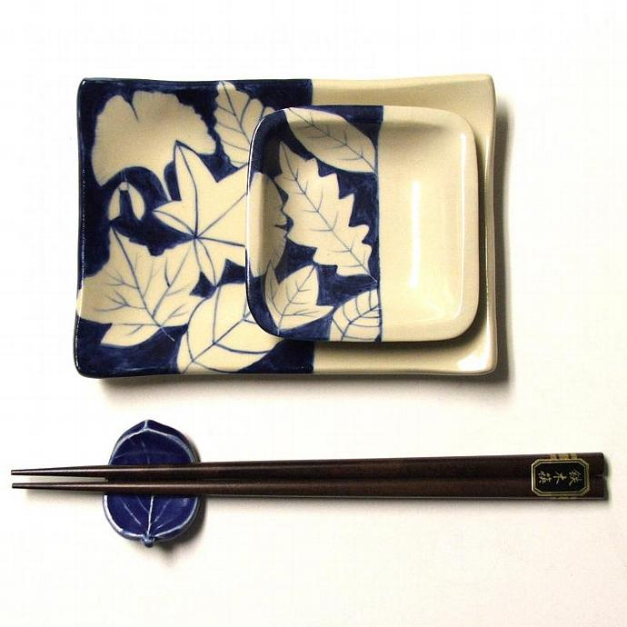 Handbuilt, Handpainted Sushi Set,