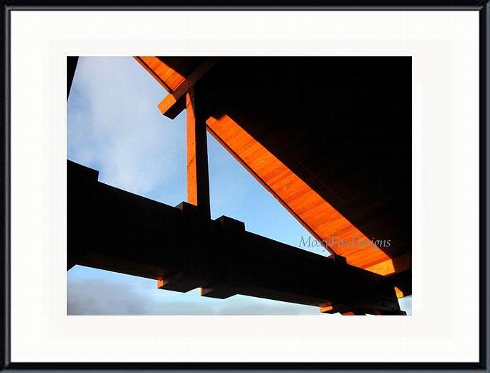 Art -- SUNLIT ANGLES -- Fine Art Photograph --  FREE US Shipping