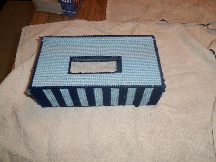 Plastic Canvas Tissue Covers