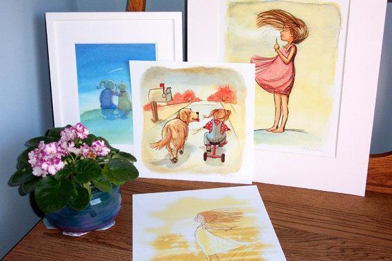 Childrens Wall Art Print - Any 11 x 14 Giclée print