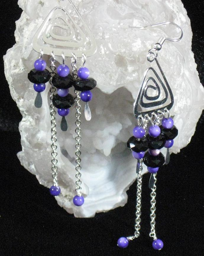 Midnight Fantasy Earrings